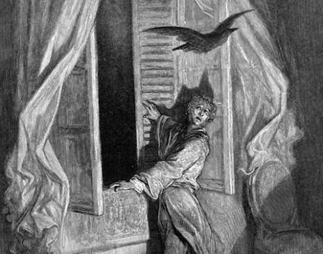 Doré-corvo-Poe