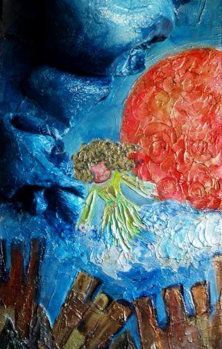 ragazza-precipita-paint