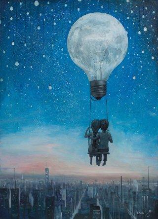 surreal-bambini-lampadina
