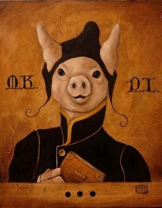 surreal-porco