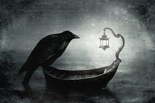 corvo-barca
