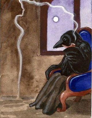 corvo-seduto