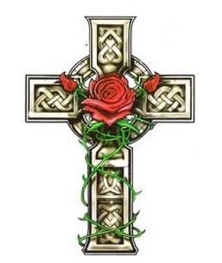croce-rose