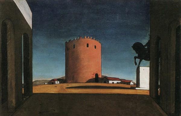 de-chirico-torre-rossa