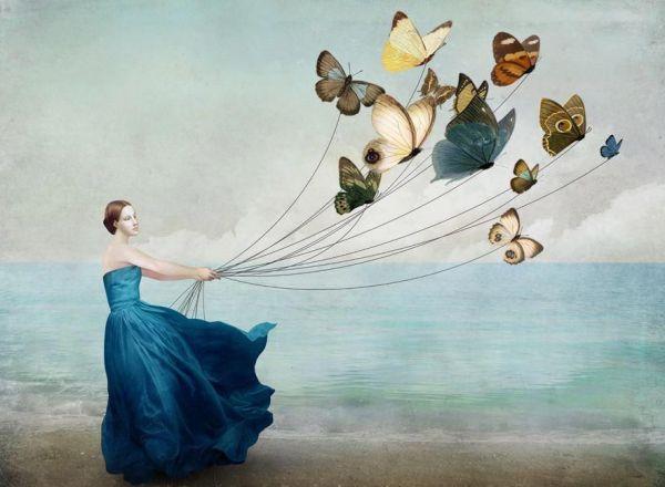 donna-farfalle-palloncini