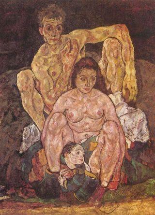 Egon Schiele-famiglia