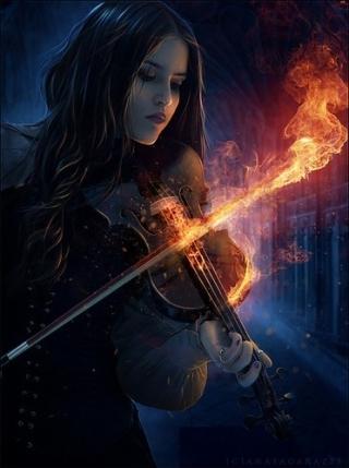 fuoco-violinista
