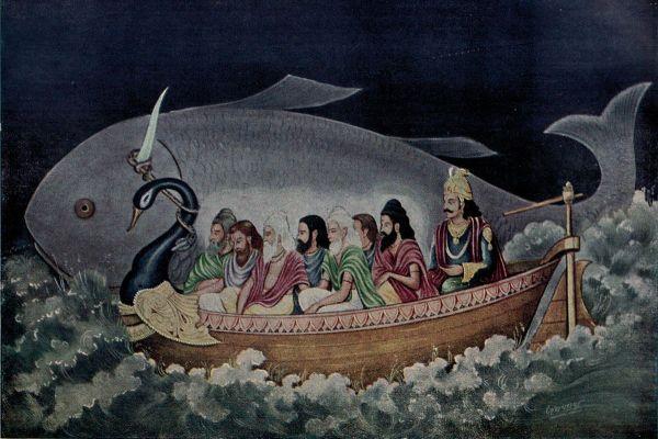 Matsya-corno-diluvio