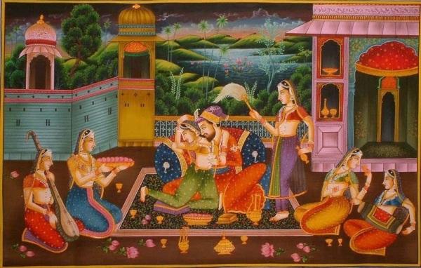 mughal-harem
