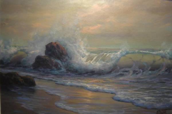 Oceano-scogli-paint