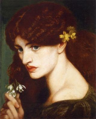 Rossetti-damigella
