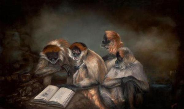 scimmie-leggono