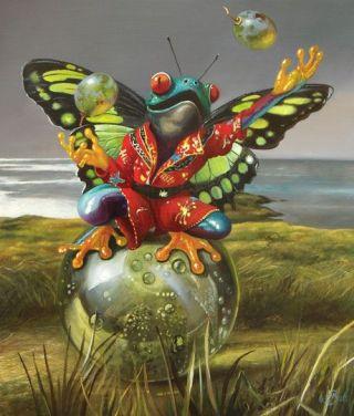surreal-rana-farfalla
