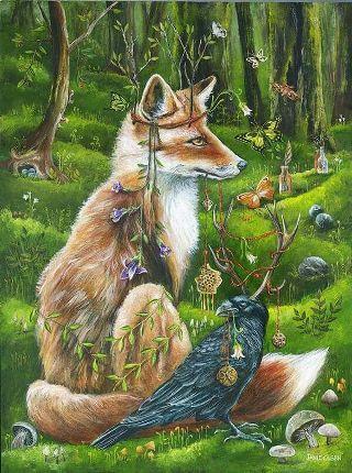 volpe-corvo
