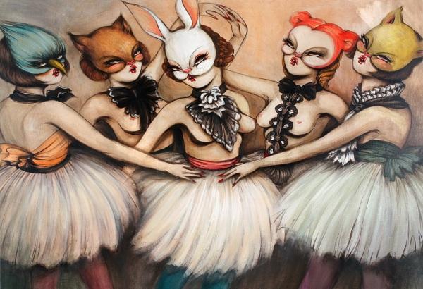 ballerine-mascherate
