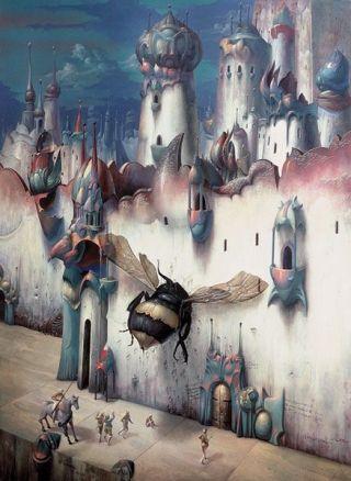 Bruvel-ape-assalta-città