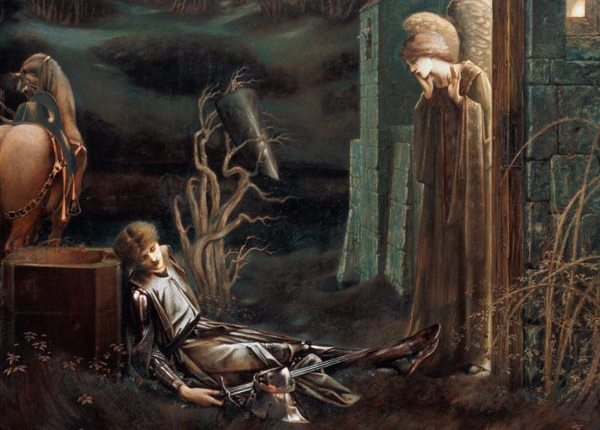 Burne-Jones-Lancillotto-addormentato