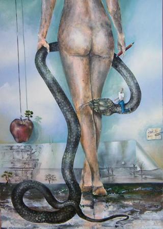donna-serpente