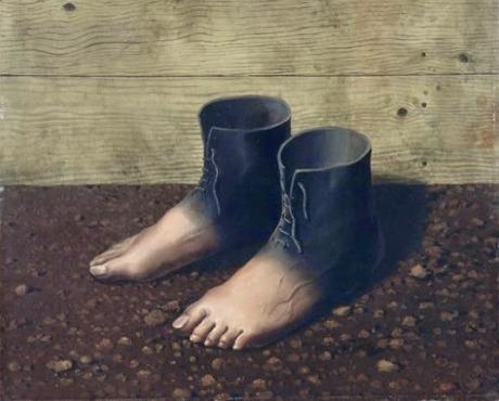 Magritte-scarpe-piedi