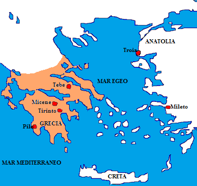 Peloponneso-mappa