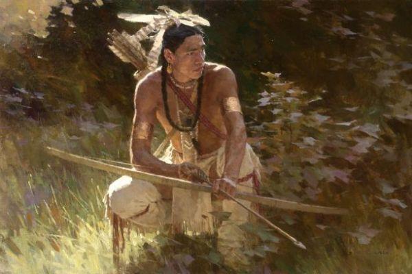 Sioux-cacciatore