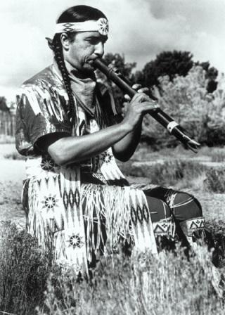 Sioux-flautista