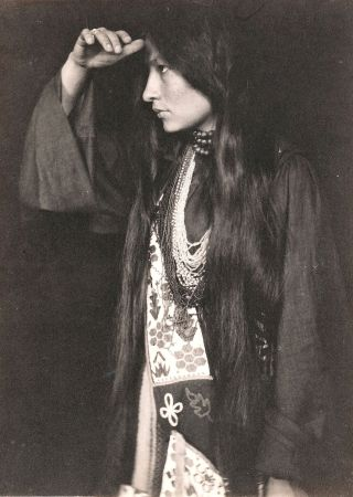 Sioux-woman