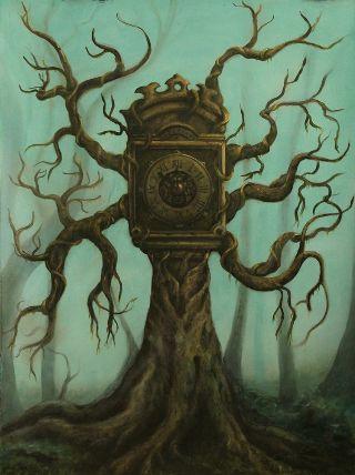 surreal-albero-orologio