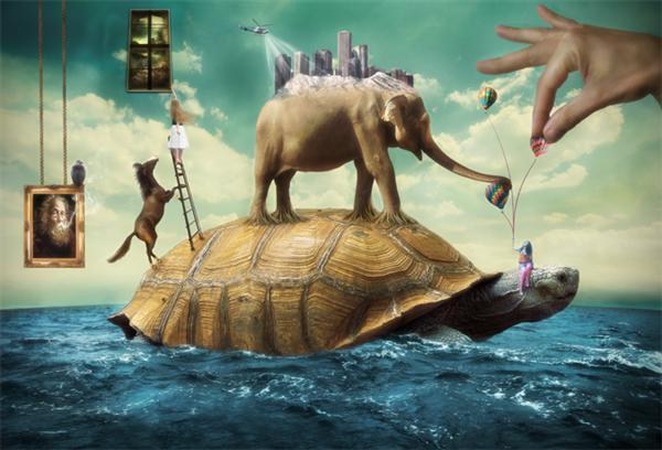 surreal-tartaruga-mondo