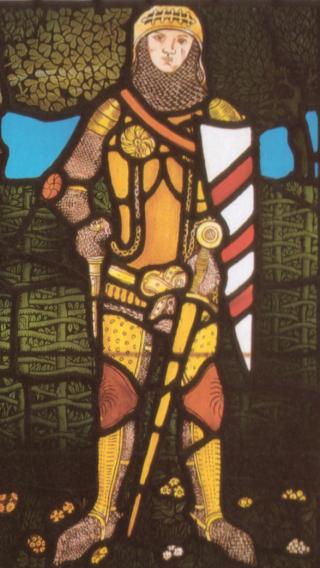 Lancillotto-vetrata