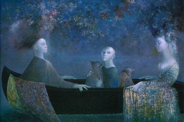 Leonor-Fini-barca-blu