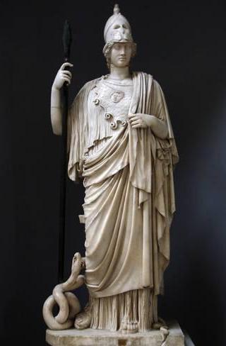 Atena-statua-Giustiniani
