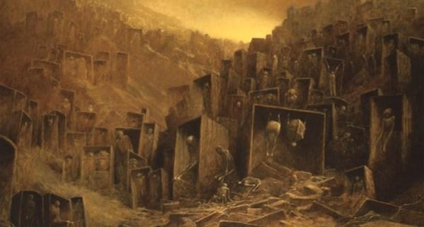 Beksinski-città-spiriti
