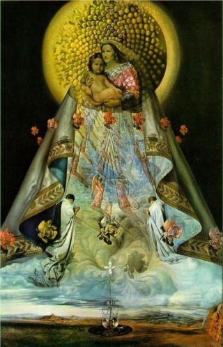 Dalì-Madonna-con-bambino