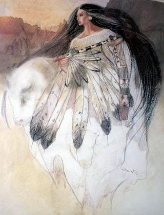 donna-bisonte