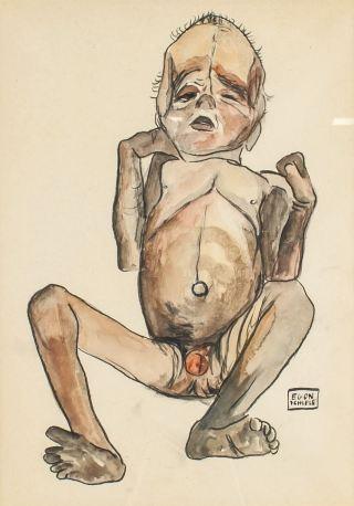 Egon Schiele-bambino