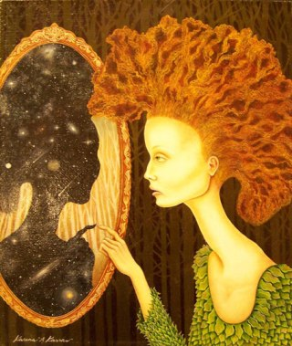 Karras-donna-specchio