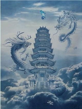 pagoda-due-draghi