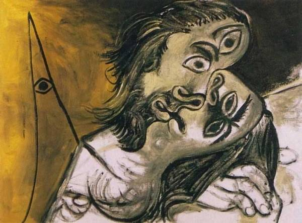 Picasso-bacio