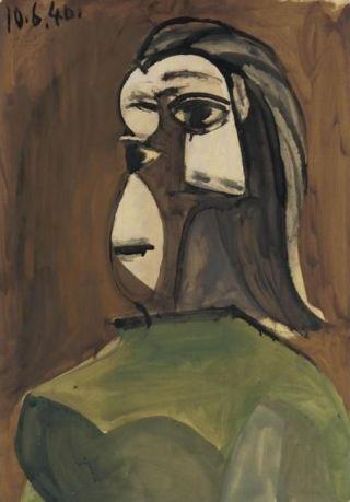 Picasso-donna-verde