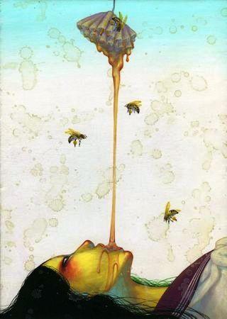 ragazza-folle-miele