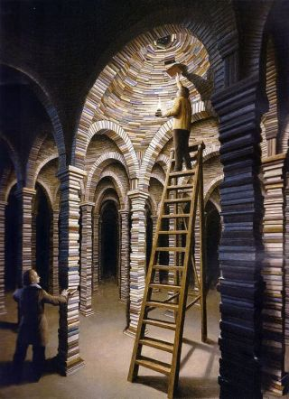 surreal-libreria-gotica