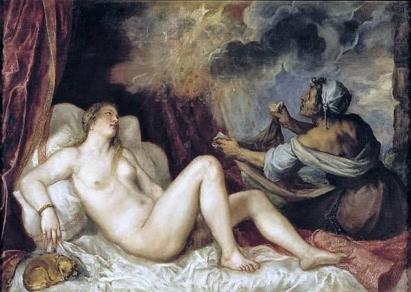 Tiziano-Danae