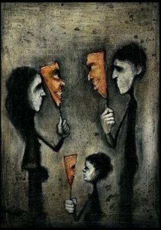 Wareham-famiglia-maschere