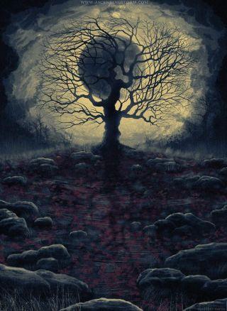 albero-sfondo-lunare