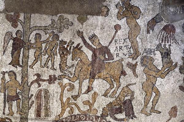 Artù-mosaico-Otranto