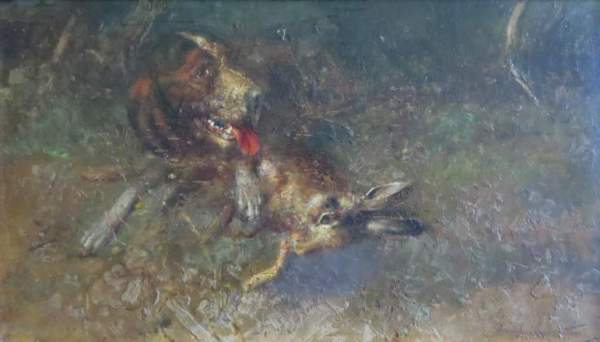 cane-lepre-morta