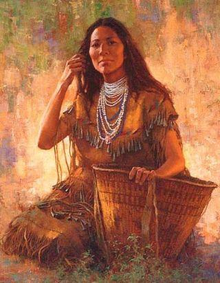 donna-indio-cesta