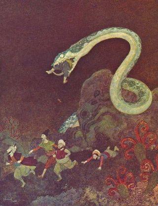 Dulac-Sindbad-serpente