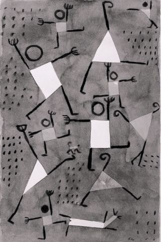 Klee-danza-angoscia